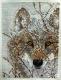 """У.Кучумова """"Среди заснеженной зимы глаза я волка увидал"""". Вышивка крестом"""